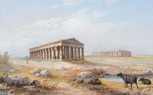 Tempio di Paestum, Y. Gianni 1898